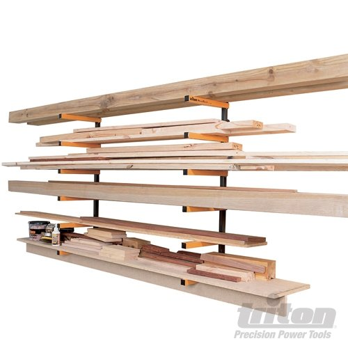 Triton woodrack storage system