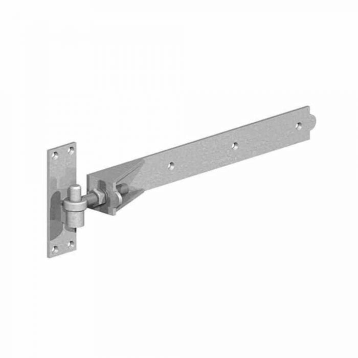Adjustable hook and band hinges