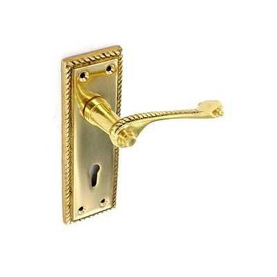 Georgain Brass Lever lock Handles