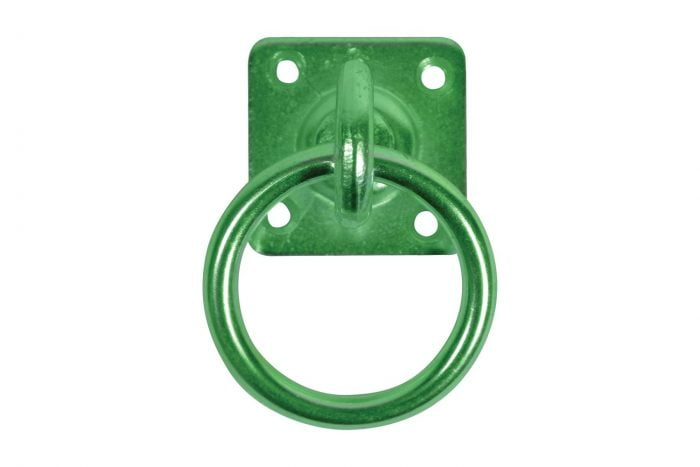 Swivel Tie Ring On Plate-2627