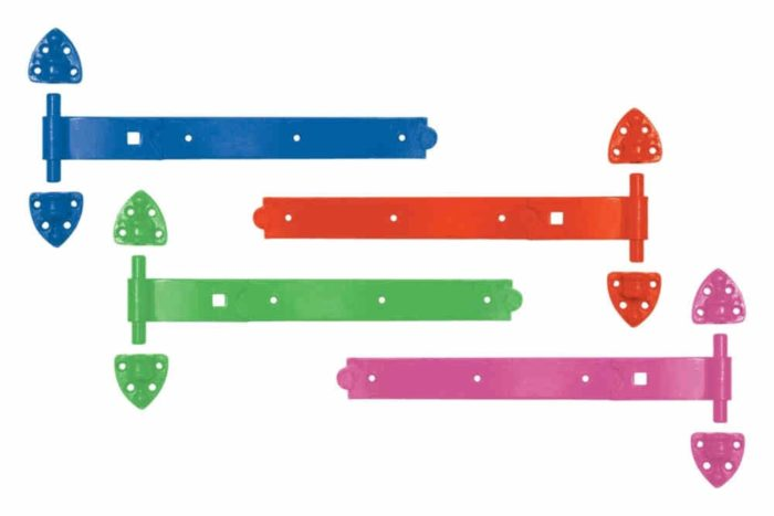 Colourful Heavy Reversible Hinges-0