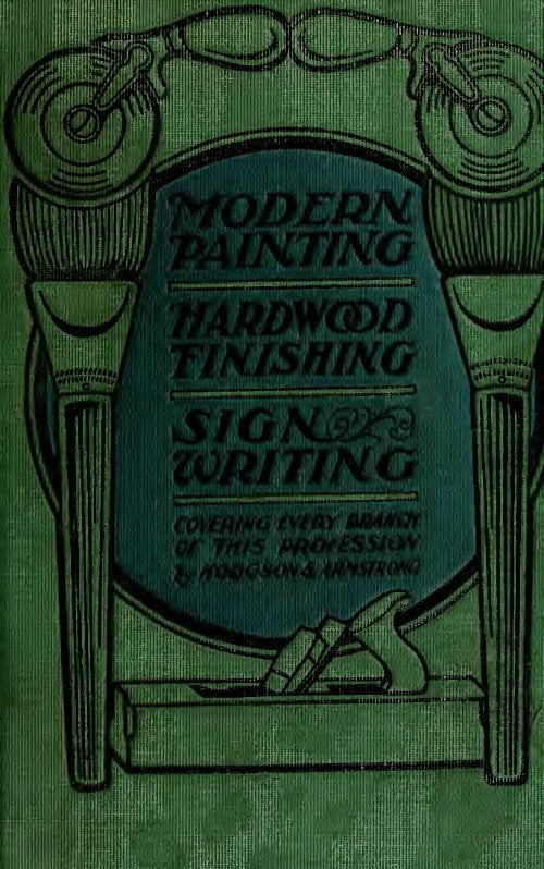 Modern Painting Hardwood Finishing And Sign Writing G D Armstrong 1918