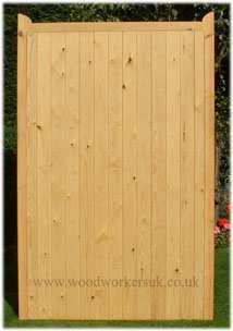Our Denbigh gate, close boarded version