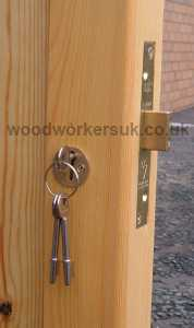 5 Lever mortice insurance deadlock, from our garage door ironmongery pack 2 (Lock pack)