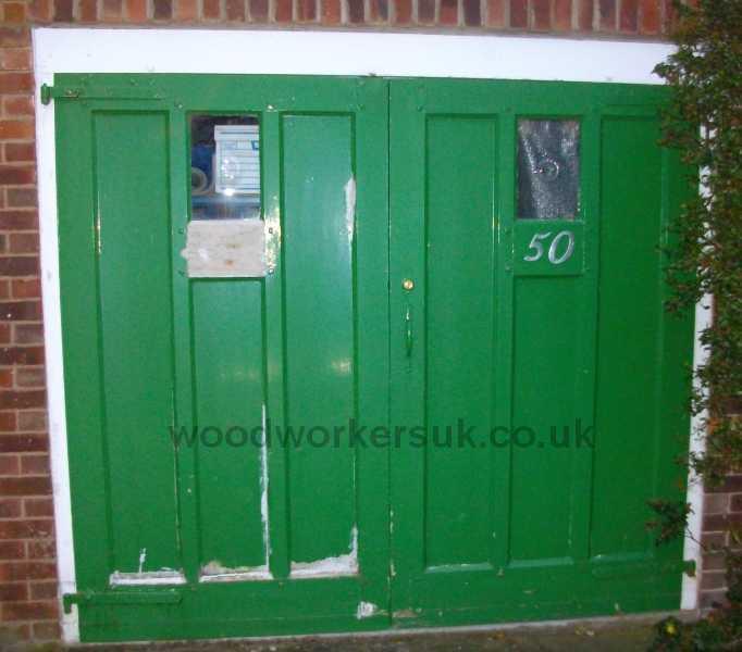 1950's garage doors