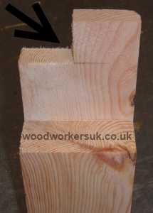 A haunched tenon joint, the secret is the piece of tenon which isn't there!