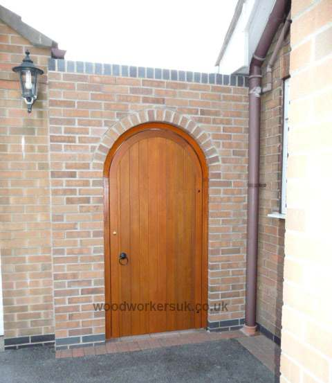 Semi Circular Arched Hardwood Gates Gate Expectations