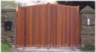 Quality Wooden Gates Hardwood Oak Timber Gate Expectations