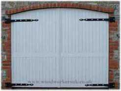 wooden-hinged-garage-doors