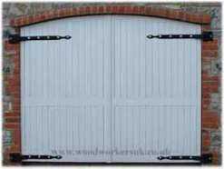 wooden-hinged-garage-doors
