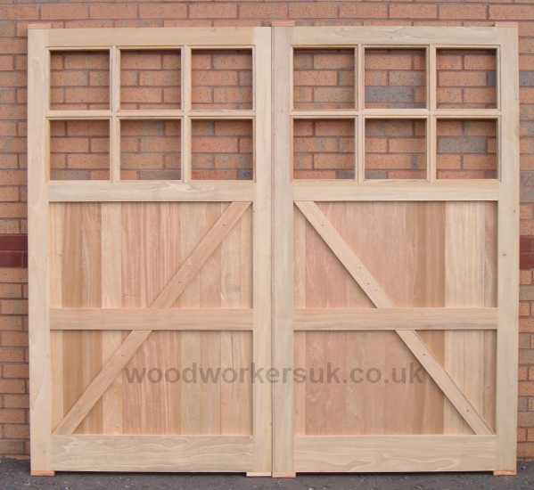 Rear view of our Conway garage doors. Again pictured in Idigbo