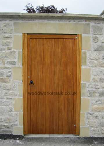 Our Denbigh gates manufactured with a flat top to fit within an enclosed stonework opening