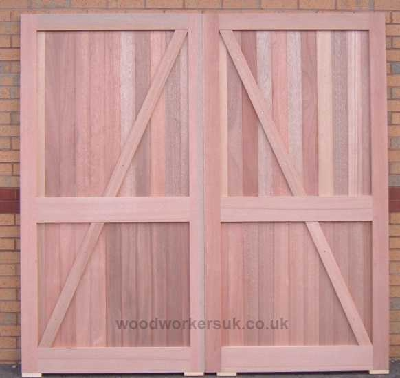Rear view of our marvelous Menai garage doors - Give them a go if you dare!