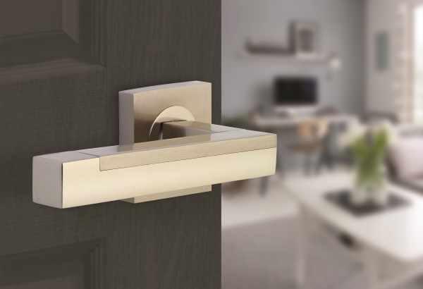 Horizon Modica Designer Lever Handles fitted