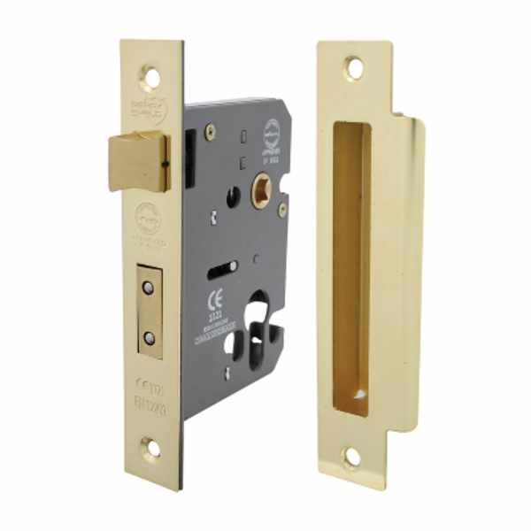 Perry Shield CE Certifire Cylinder Mortice SashLock (Euro Profile) - FD60