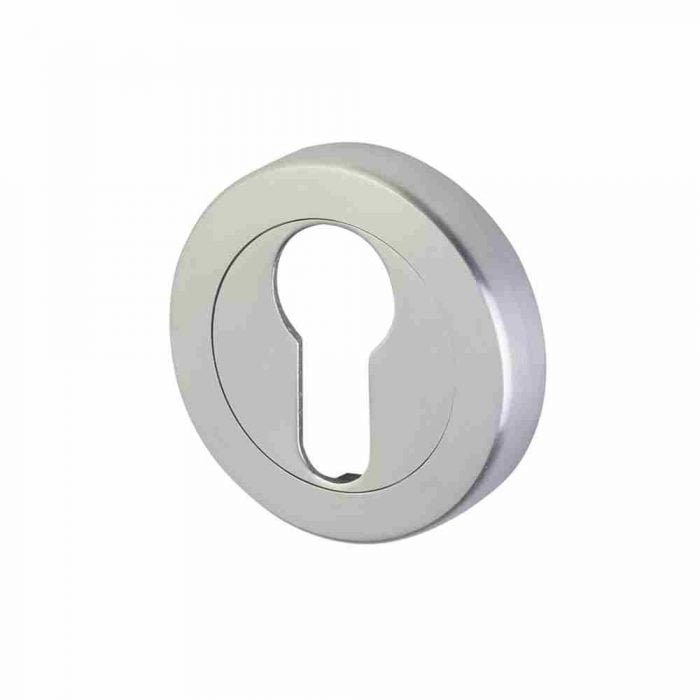 Perry-horizon-50mm-round-escutcheon-euro-lock-satin-chrome
