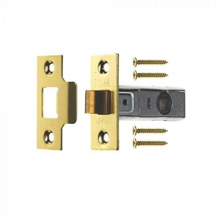 ERA 189-32 Mortice Latch 75mm Brass 57mm Backset