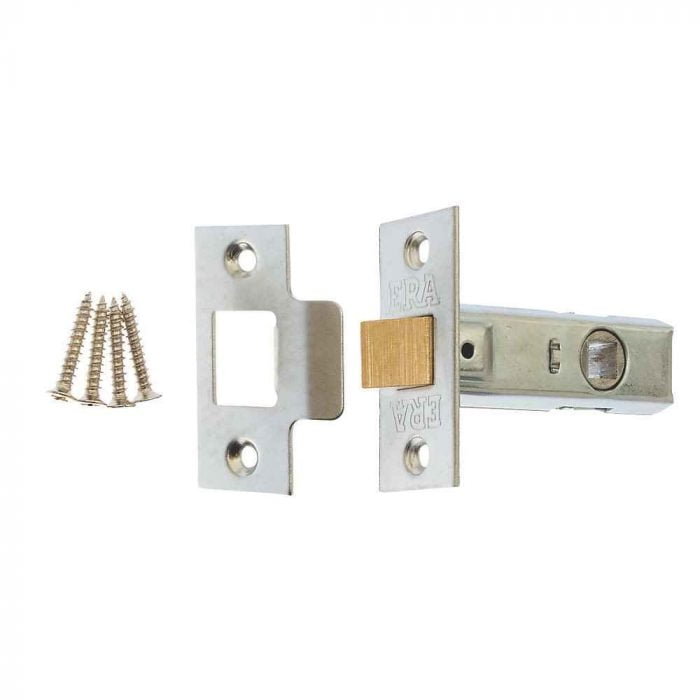 ERA 189-92 Mortice Latch 75mm Satin 57mm Backset