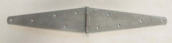 strap hinge most commonly used on bi-folding gates and doors