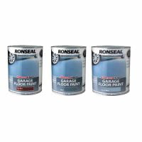 Ronseal Diamond Hard Garage Floor Paint Tile Red Slate Steel Blue