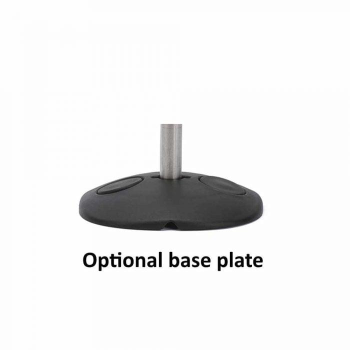 Optional base plate D&D Lokkbolt