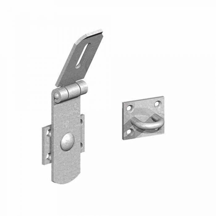 heavy swivel locking bars galvanised